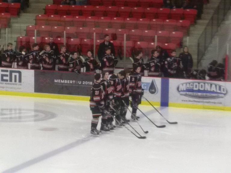 Nova Scotia Major Midget Hockey League results (from Membertou Wednesday)