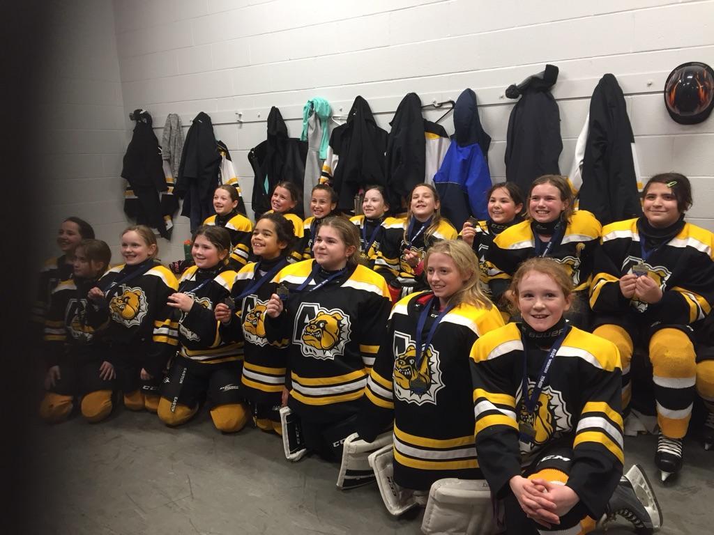 SEDMHA Female Tournament (from Halifax Sunday)