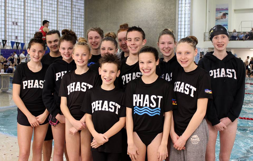 PHAST Swimmers perform well at meet in Wolfville