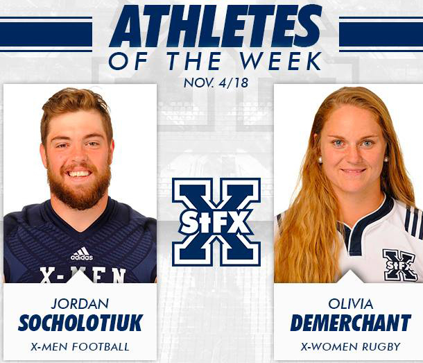 StFX name Athletes of the Week