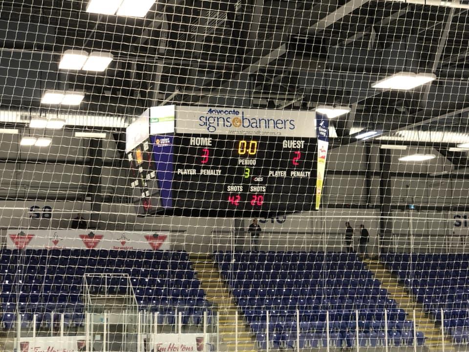 Nova Scotia Female Midget AAA Hockey League results (from Pictou Saturday)