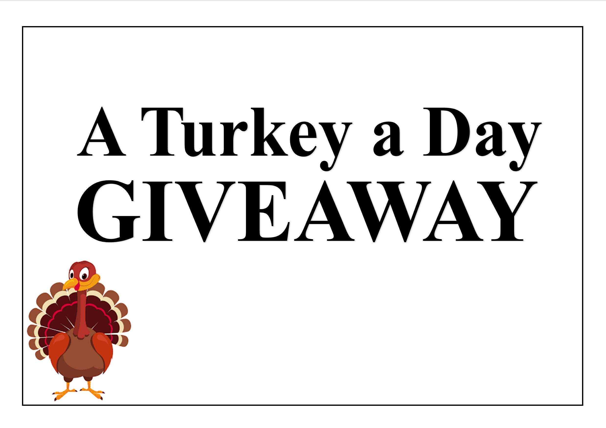 Turkey a Day Giveaway