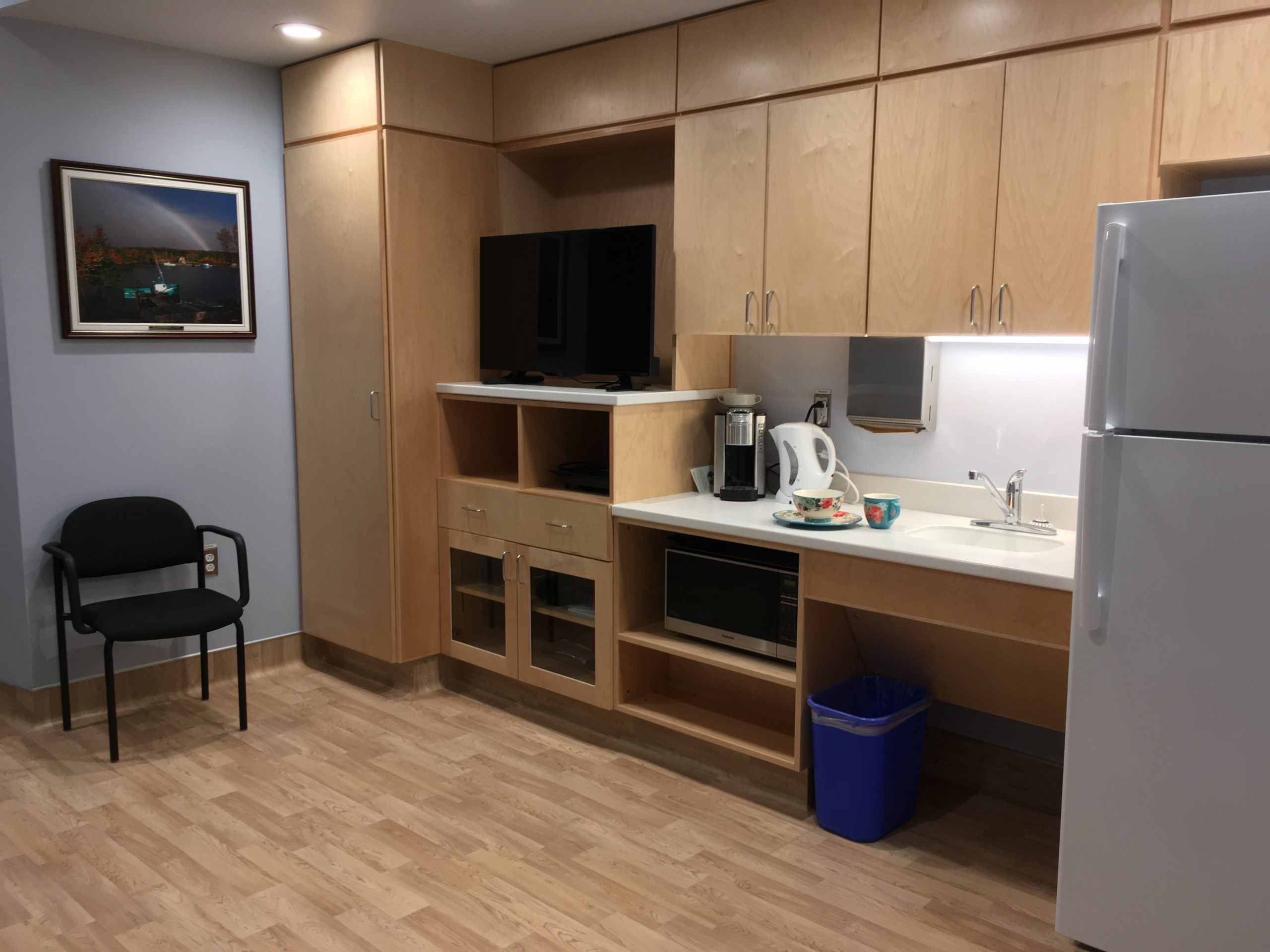 Warden says palliative care family room is great addition to Inverness hospital