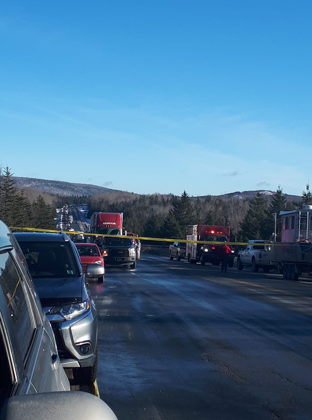 One person dead in Hwy. 104 crash