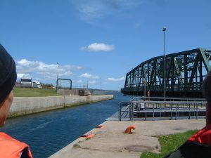 Canal closes for winter