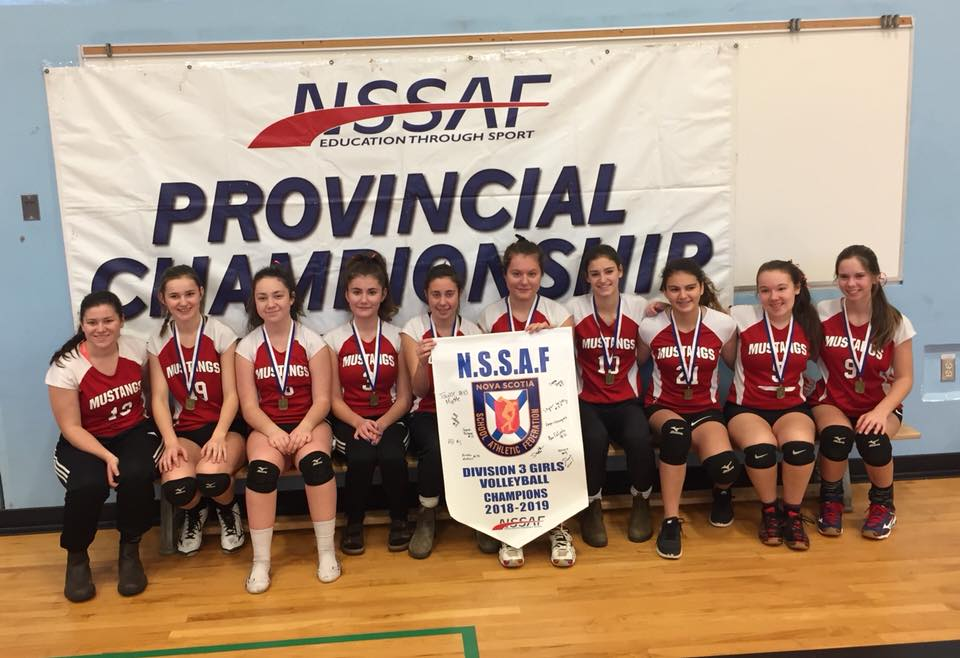 NSSAF volleyball provincial results (from Sunday)