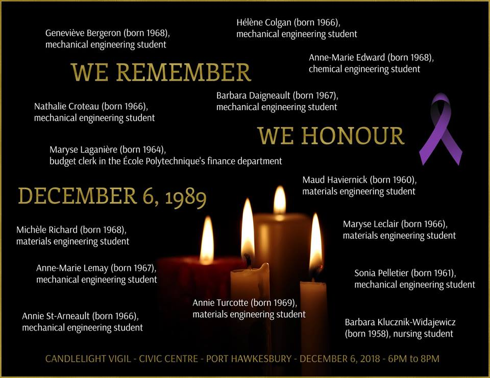 Candlelight vigil set for Port Hawkesbury as part of National Day of Remembrance