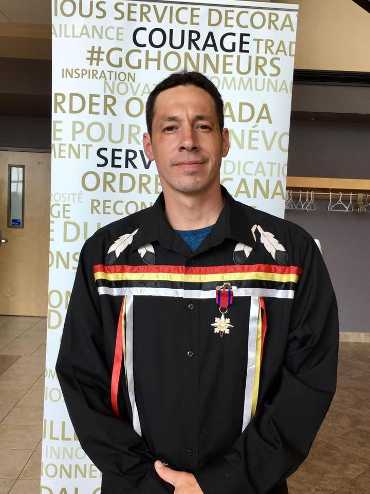 Waycobah man receives another honour for bravery