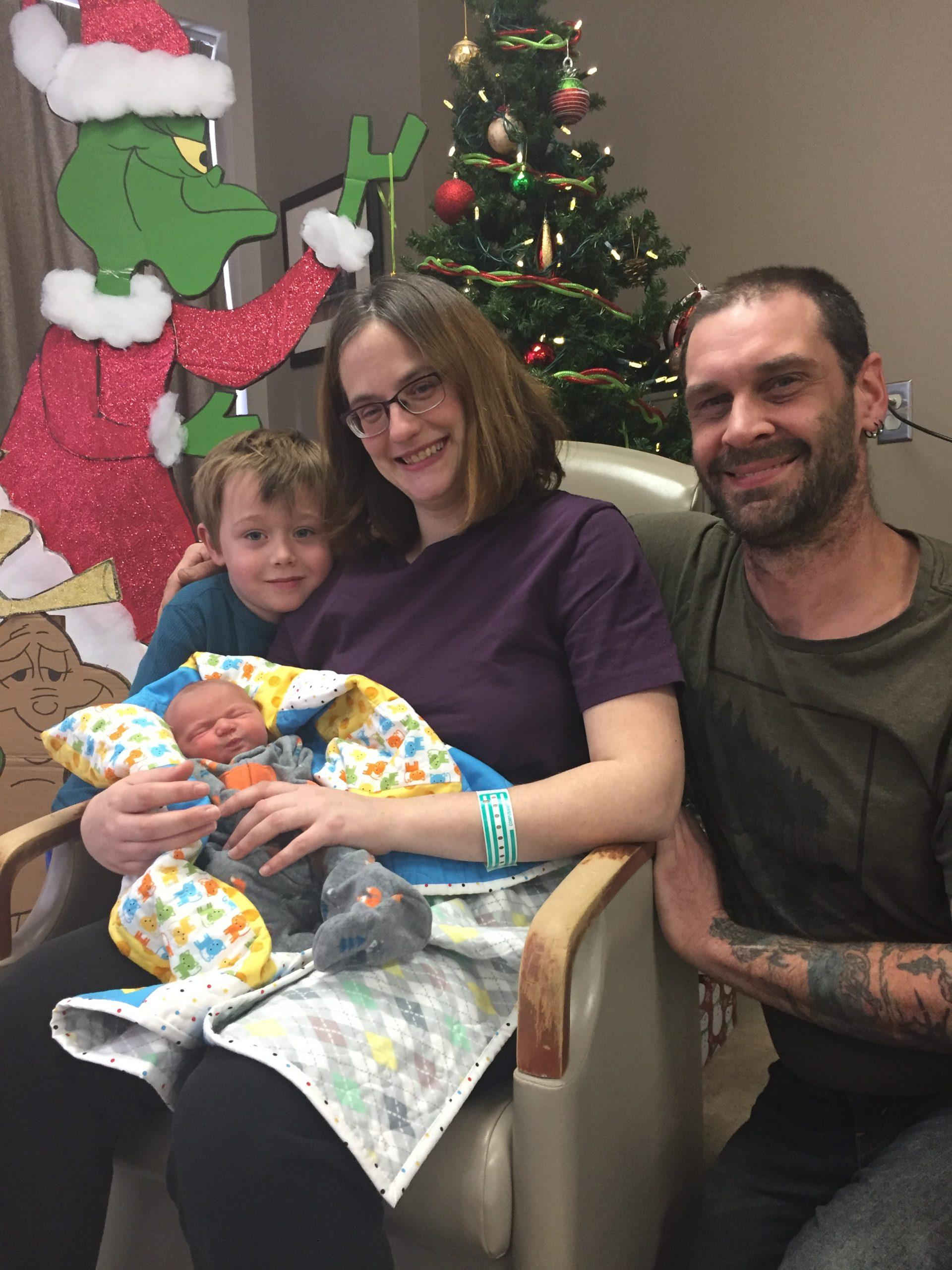 First Baby of New Year born in Antigonish