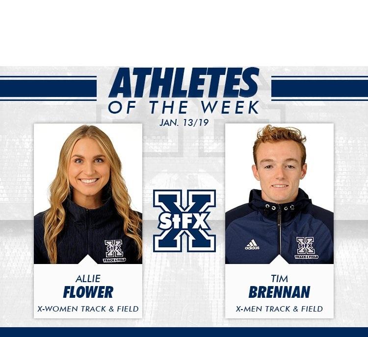 Sprinters sweep weekly StFX awards