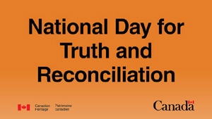 September 30 is the National Day for Truth and Reconciliation