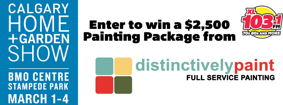 Win a $2,500 Painting Package
