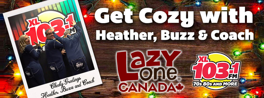 Get Cozy with Heather, Buzz, Coach and Lazy One!