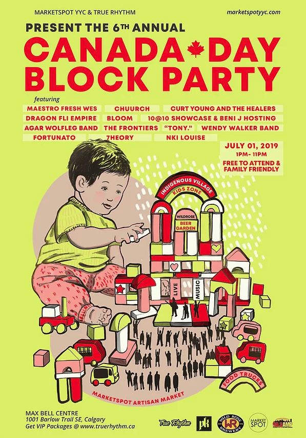 Canada Day Block Party   XL 103 Calgary