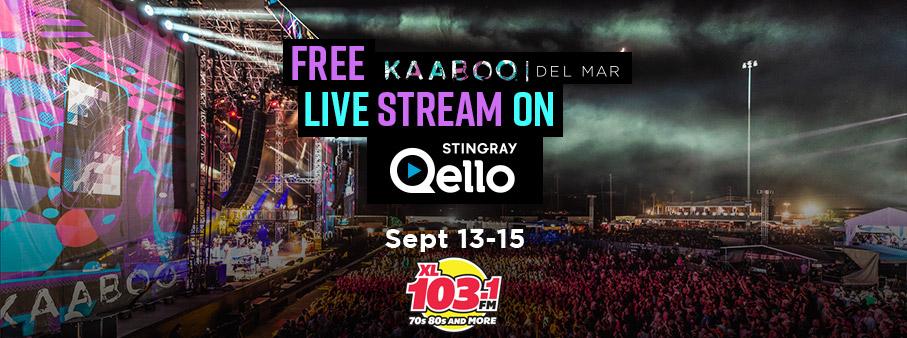 Qello – KAABOO | XL 103 Calgary