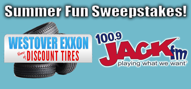 Jack FM's Summer Fun Sweepstakes with Westover Exxon | WZST-FM Jack