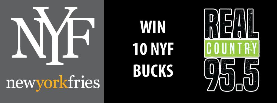 Win 10 New York Fries Bucks!