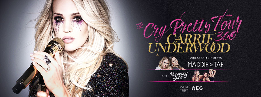 See Carrie Underwood in Nashville!
