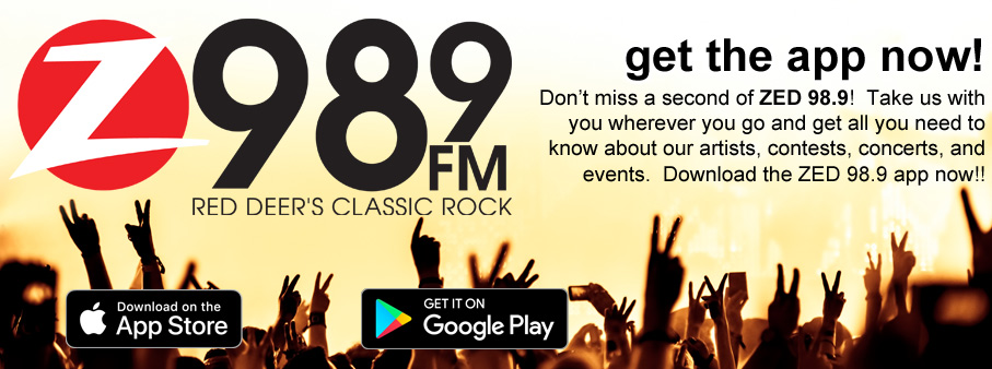 Get the Zed app | Z 98 9 Red Deer's Classic Rock
