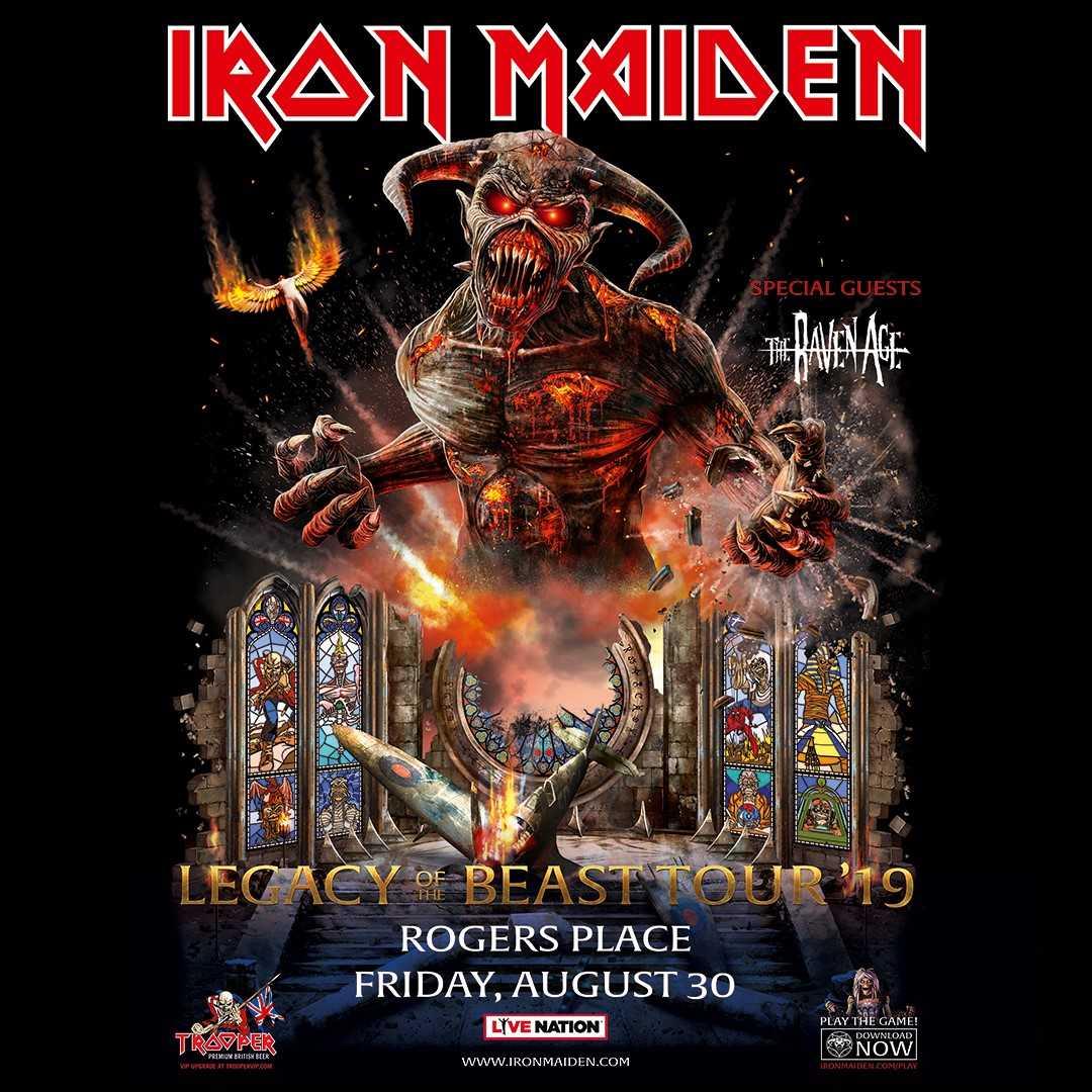 Iron Maiden | Z 98 9 Red Deer's Classic Rock