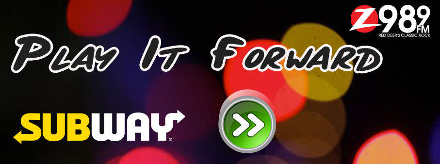 Play It Forward | Z 98 9 Red Deer's Classic Rock