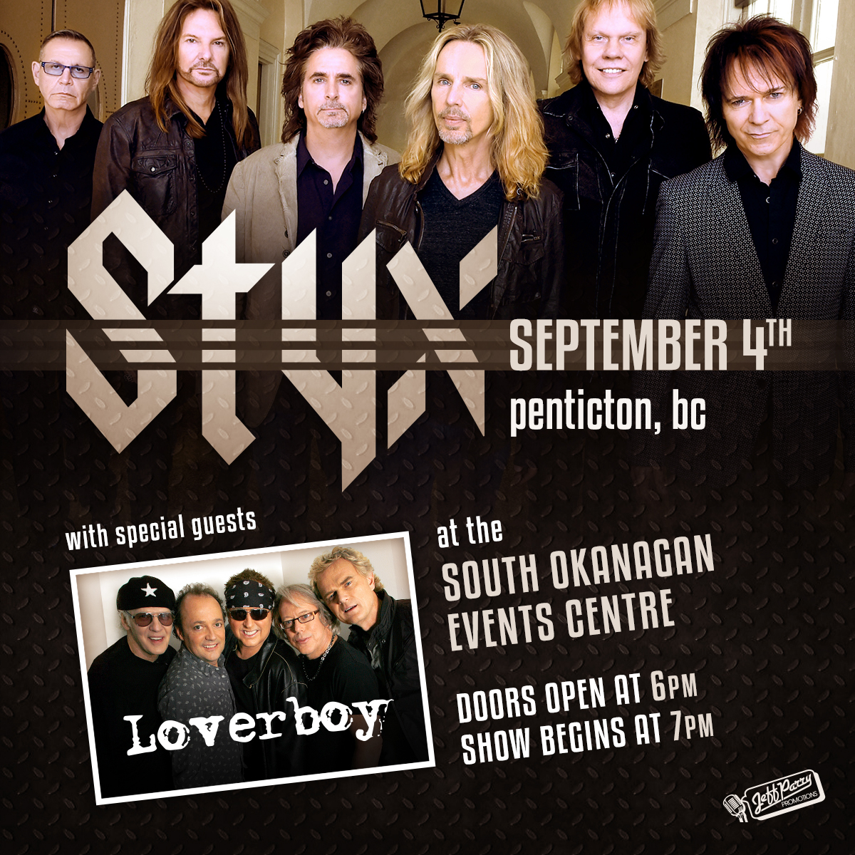Styx With Special Guest Loverboy K 96 3 Kelowna S Classic Rock