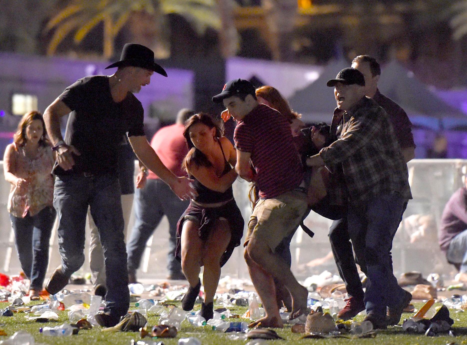 Mass shooting at Las Vegas concert