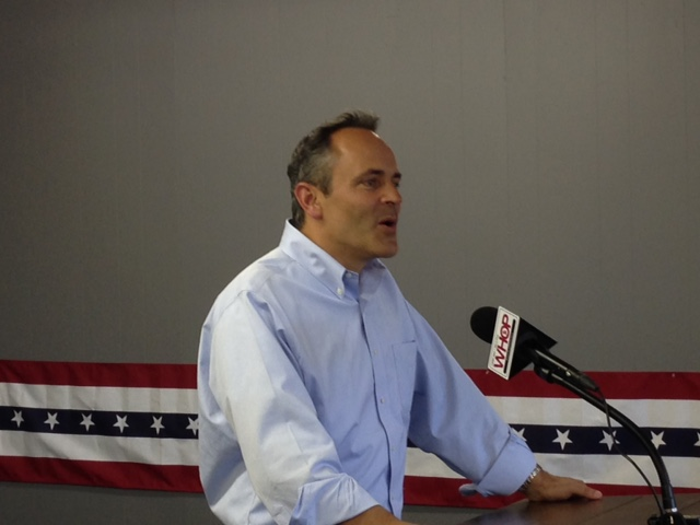 Bevin says Oak Grove track good for Ky, won't support sports betting at tracks