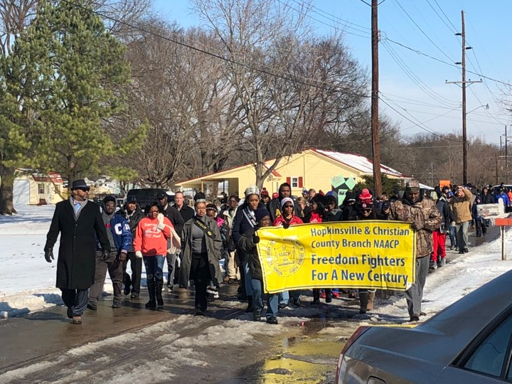 MLK Jr. remembered with march, service