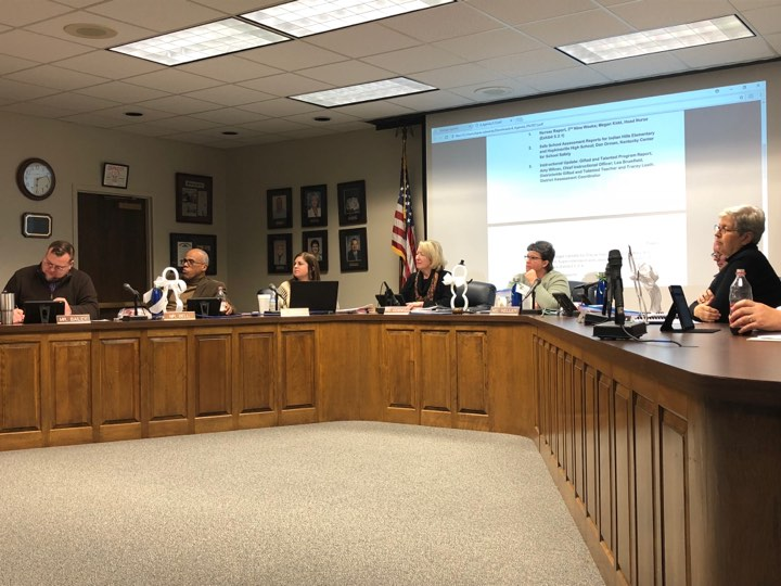 School Board hears budget, safety presentations