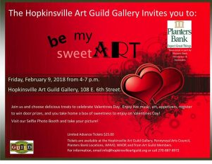 Be My SweetArt event next week