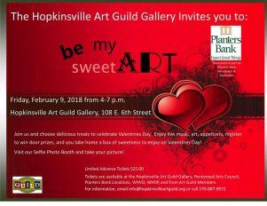 Be My SweetArt event next week
