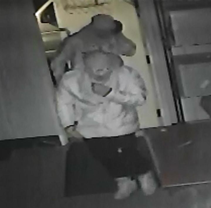Cadiz Police seeking Subway burglars