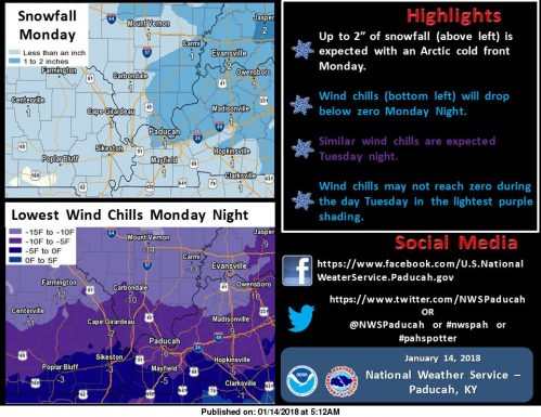 Some roads still slick, minor snow event expected Monday evening