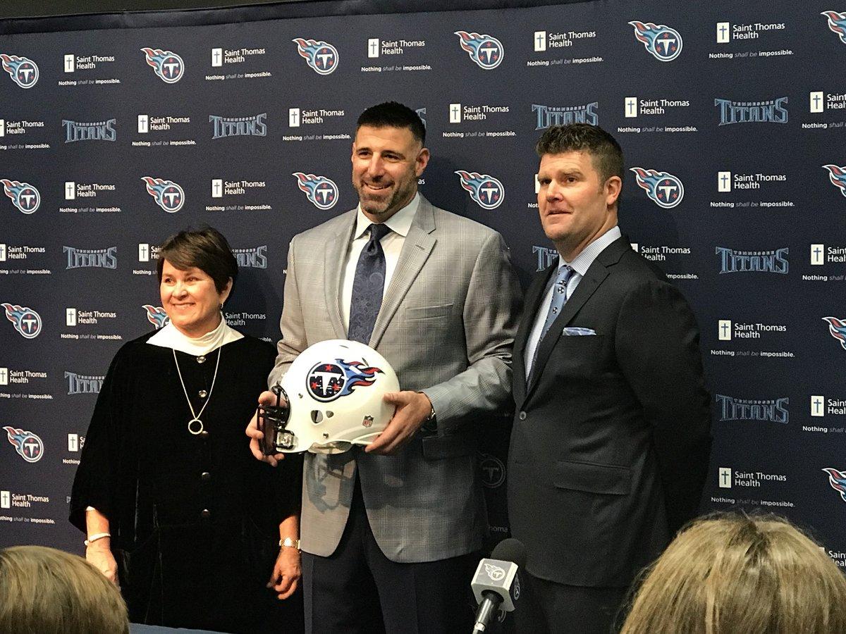 Titans announce Vrabel as new head coach