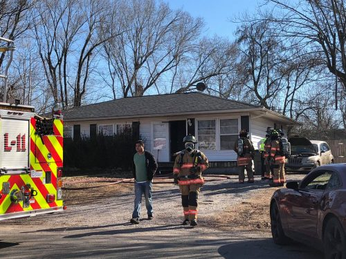 Four displaced by cooking fire