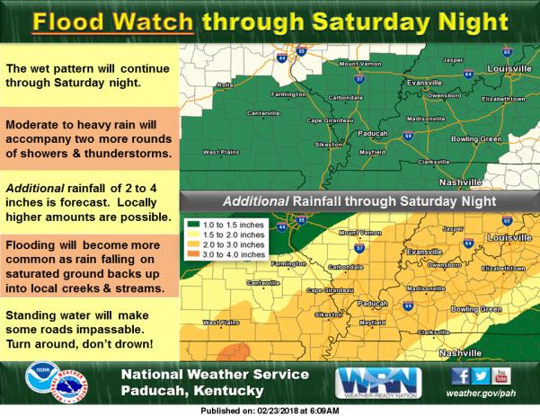 Flood Warning until 3:45 p.m. Friday