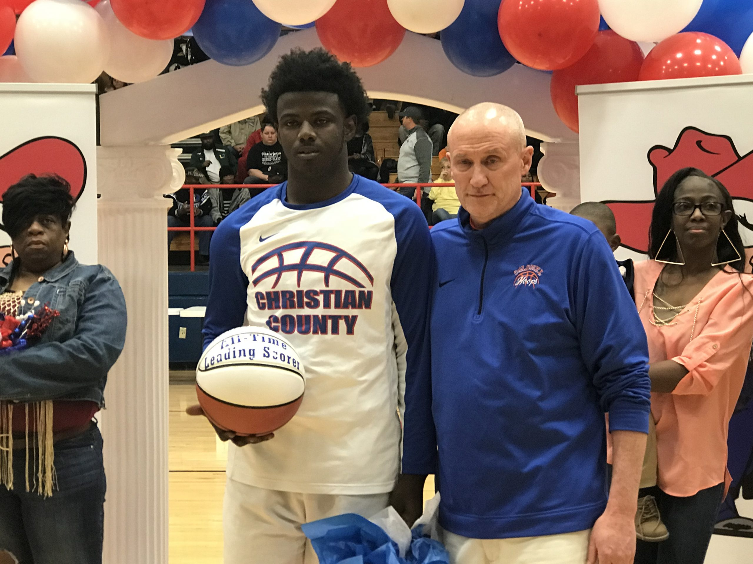 Ware honored as CCHS all time leading scorer