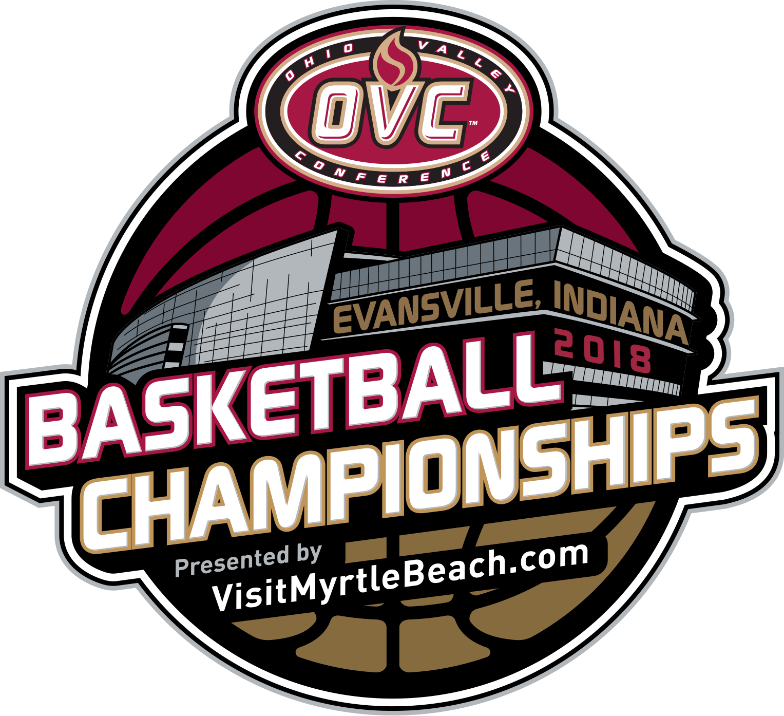 Ohio Valley Conference basketball tourney brackets