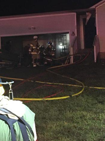 Oak Grove home damaged by fire