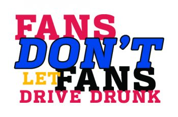 Don't drive drunk on Super Bowl Sunday