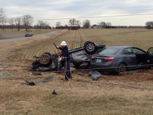 Man seriously injured in US 79 wreck