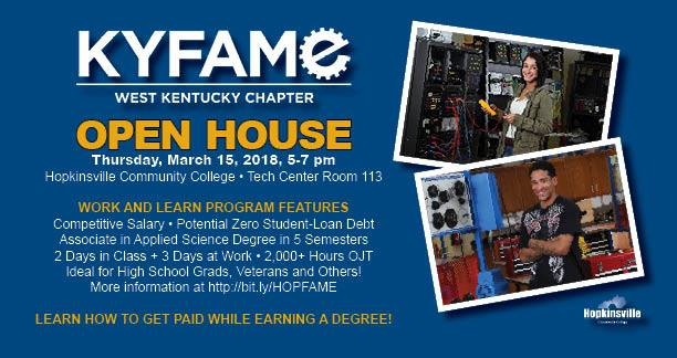HCC hosting KY FAME open house