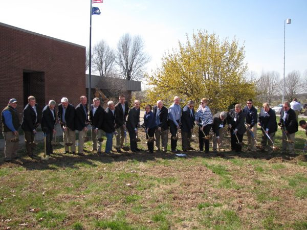 Ground broken for UK Grain and Forage Center in Princeton
