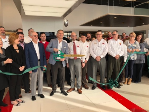 Ribbon cut for new Sisk Nissan facility
