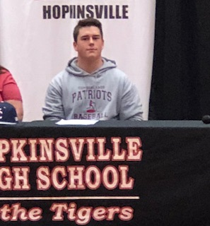 Hoptown's Bearns signs to play baseball at University of the Cumberlands
