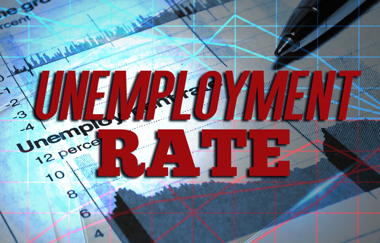 Unemployment up across region last month