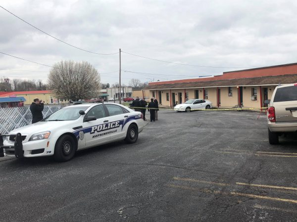 Death investigation at Kings Court Motel