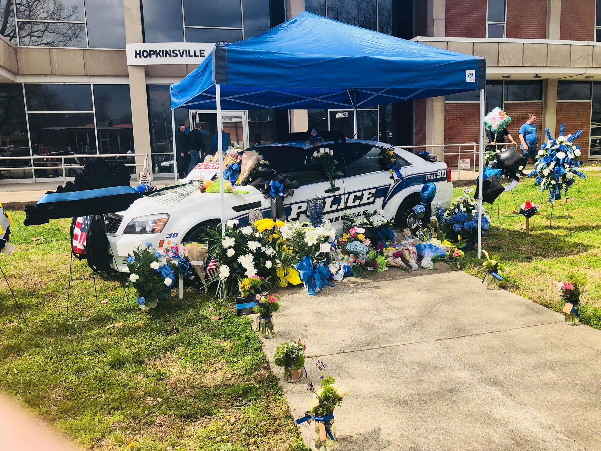Justice Center to close from 10:30-12:30 Wed. for Officer Meacham funeral