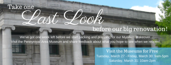 Get a last look at museum before renovations